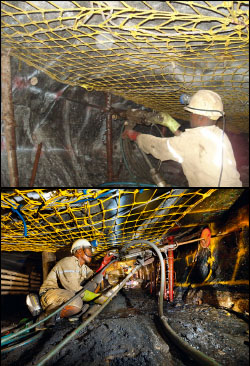Mining Safety Nets
